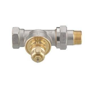 """Клапан радиаторного терморегулятора RA-G 15 1/2"""" прямой никелированный Danfoss (арт. 013G1675), 013G7024, для однотрубной системы"""