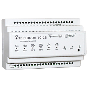 Теплоконтроллер TEPLOCOM TC-2B