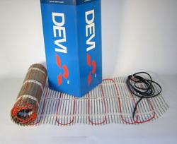 Девимат DTIF-150 1235 / 1350 Вт 0,45 x 18 м 9 нагревательные маты для электрического теплого пола DEVI, (140F0441), 140F0456