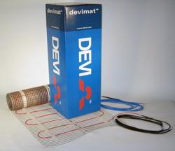 Девимат DEVI DSVF-150 1372 / 1500 Вт 0,45 x 20 м 10 тонкие одножильные маты для теплого пола, 140F0341