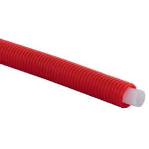 Труба Uponor для систем напольного, радиаторного отопления и охлаждения, серии S 5,0 evalPEX 16x2,0 в кожухе 25/20 красном, бухта 50 м , арт. 1008388