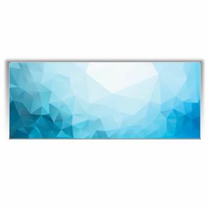 """Дизайн-конвектор Varmann GlassKon 80.180.1220, горизонтальный, настенный монтаж, подключение """"сбоку"""""""