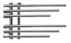 Дизайн- радиатор Зета Плюс-А-2 370(полимер 281 мм)