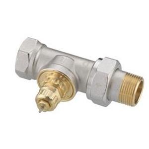 """Клапан радиаторного терморегулятора RA-G 20 3/4"""" прямой никелированный Danfoss (арт. 013G1677), 013G7026, для однотрубной системы"""