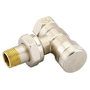 """Запорный радиаторный клапан (на обратку) Danfoss RLV-20 3/4"""" угловой никелированный (арт. 003L0145)"""