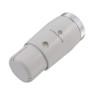 Головка термостатическая SCHLOSSER MINI M30x1,5 Белый 2, арт. 601100033